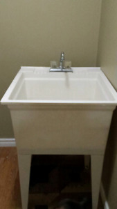 Laundry sink for sale with faucet