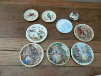 "Royal Albert ""Old country roses"" pill box and a variety of dishes"