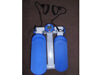 Exercise Stepper with ropes