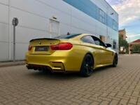 2014 64 reg BMW M4 3.0 DCT COUPE + YELLOW + HUGE SPEC + HUD + STYLING KIT