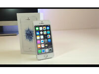 New iphone se silver 32gb O2