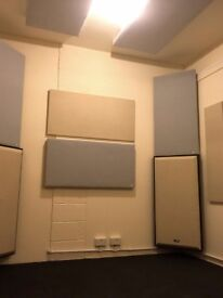 Recording studio in E1. Professionally soundproofed,acoustically treated,air con,all bills included.