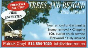 Entreprise arboriculture a vendre