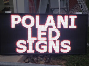 WINDOW LED SIGN PROGRAMMABLE SINGLE COLOR FOR SALE $129.99*