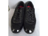 Men's Casual Shoes FIRETRAP, Size 9uk 43eu. Black.