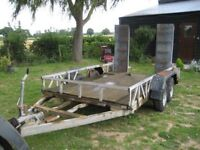 Indespention 10ft x 5ft plant trailer 3500 kg gross wieght