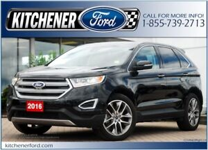 2016 Ford Edge Titanium **AWD/HOT&COOL LEATHER/PANO ROOF/NAVI...