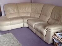 leather corner relciner sofa delivery available