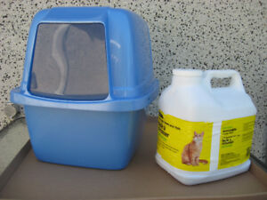 Kitty Litter Dish + 7 kg of Kitty Litter