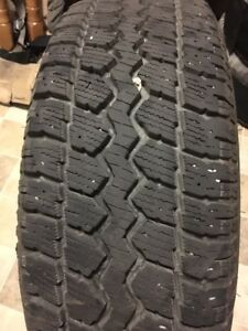 M & S 215/70/R16 tires and rims for sale