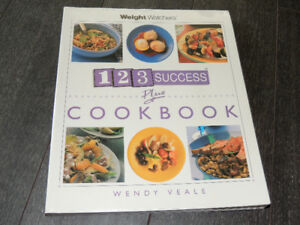 Weight Watchers 123 Success Plus Cookbook Paperback with Plastic