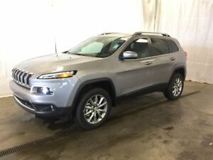 2017 Jeep Cherokee Limited +Cuir, Toit Pano+