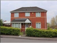 3 bed detached house with garage and conservatory to rent, Coventry, CV3, unfurnished