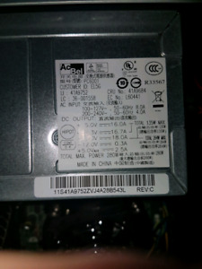 280W POWER SUPPLY ONLY Leveno AcBel