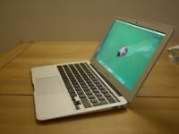 APPLE MACBOOK AIR INTEL CORE I5 1.3GHZ 4GB RAM 128GB SSD WIFI WEBCAM OS X