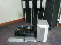 Yamaha dolby digital cinima home surround sound system