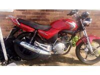 Yamaha YBR125 2007 Fuel Injection