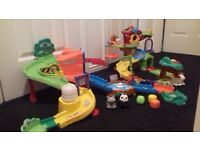 Vtech toot toot animal treehouse & zoo