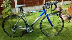 Adult, unisex. Alloy Challenge Typhoon. Road/race bike. vgc ready to ride.