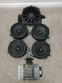 Audi A4 B7 saloon Bose sound system