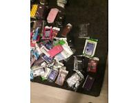 Joblot of phone covers