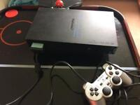 PlayStation 2 PS2 with controller memory card and over 250 games