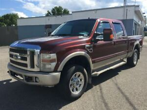2008 Ford F-250 KING RANCH LARIAT 4X4 DIESEL 10999$