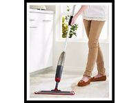 3-In-1 Spray Mop With Free Window Wiper Attachment
