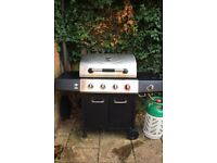 Uniflame 4 Burner and Side Gas Grill / Barbecue