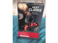 Nicky Clarke Compact Heated Rollers