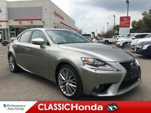 2014 Lexus IS 250 LEATHER | A/C SEATS | ONE OWNER | SUNROOF | AW