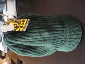 Volcom green cable knit fall winter hat cap New with tags