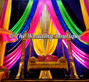 PAKISTANI AND INDIAN STYLE WEDDING BACKDROPS