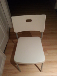 IKEA CHAIR AND LAPTOP TABLE