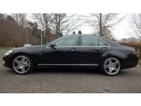 09/59 MERCEDES BENZ S CLASS VERY LOW MILES FULL SERVICE HISTORY 12 MONTHS MOT