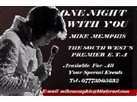 """ONE NIGHT WITH YOU "" Elvis for your special event"