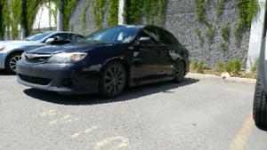 Subaru wrx 2010 noir
