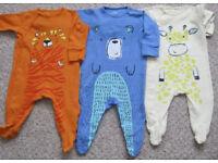 Baby Boys Clothes 3 - 12 months. 25p - £1.75 per item.