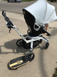 Orbit Baby G2 Stroller System with Side Kick and Winter Kit