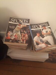 Sports magazines and more