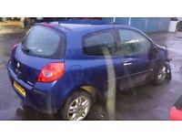 CLIO TAILGATE BLUE 2007