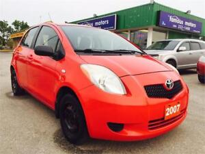 "2007 Toyota Yaris LE ""LOW KM's, BEST PRICE""! NEW SAFETY!"