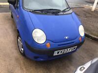 Daewoo Matiz 1.0 Petrol 51K Blue 2003 5-dr 12 Months MOT £550