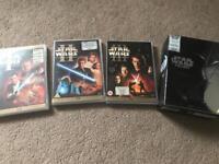 Star Wars original trilogy and prequels
