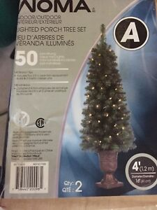 Set lighted Christmas tree set
