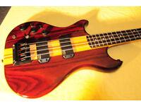 Left hand Thunder III Westone Electric Bass Guitar
