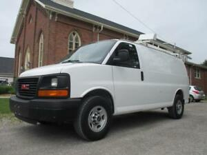 2011 GMC Savana Cargo Van EXTRA CLEAN+ROOF RACK & SHELVES