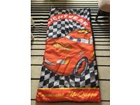 Lighting Mcqueen sleeping bag exc condition