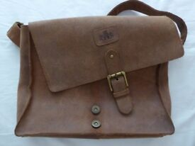 'Rowallan' man/messenger shoulder bag.