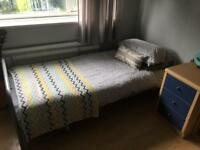 Single Ikea bed/mattress - fab condition